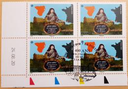 2020 - BLOC 4 - Coin Daté - 400 Ans Du Rattachement Du Béarn à La France - Oblitéré 1er JOUR - 16.10.2020 - YT 5435 - Used Stamps
