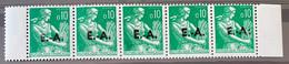 ALGERIE 1962 - YT354** -  SURCHARGE EA ORAN RP - 9-42 + 942A (Surcharge Locale) - Bande De 5 - Algeria (1962-...)
