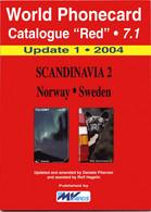 WORLD PHONECARD-RED-7.1 SCANDINAVIA 2 - Books & CDs