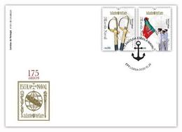 Portugal & FDC 175 Of Portuguese Naval School 2020 (8417) - Sobres