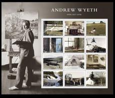United States 2017 - Andrew Wyeth MNH. Vereinigte Staaten Stati Uniti États-Unis USA Künstler/artista/artiste Art - Unclassified