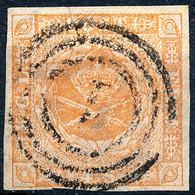 Stamp Denmark 1854 4s Used Lot1 - Oblitérés