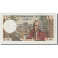 France, 10 Francs, Voltaire, 1965, 1965-04-01, SPL+, Fayette:62.14, KM:147a - 10 F 1963-1973 ''Voltaire''