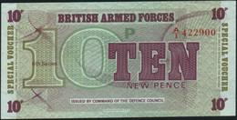 ♛ GREAT BRITAIN - 10 New Pence Nd.(1972) AU-UNC P.M 48 - Forze Armate Britanniche & Docuementi Speciali