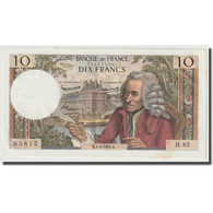 France, 10 Francs, Voltaire, 1964, 1964-06-04, SPL, Fayette:F.62.09, KM:147a - 10 F 1963-1973 ''Voltaire''