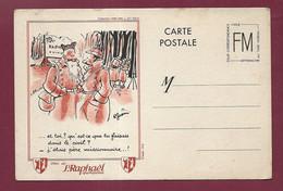 311020C - MILITARIA LETTRE GUERRE 1939 45 - FM Illustrateur R GUERIN Pub ST RAPHAEL Quinquina - Poilu - Militärpostmarken