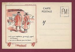 311020C - MILITARIA LETTRE GUERRE 1939 45 - FM Illustrateur R GUERIN Pub ST RAPHAEL Quinquina - Poilu Capitaine - FM-Karten (Militärpost)