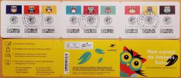 """2020 - AA  En BC - CARNET """"Mon Carnet De Timbres Suivi - C'est Chouette"""" - OBLITERE 1er JOUR - PARIS - 16.10.2019 - Used Stamps"""