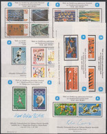 Olympics 1980 - Soccer - Handball - GERMANY - LOT - 8 Vignettes MNH (234) - Summer 1980: Moscow