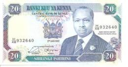 Kenya P-25b  20 Shillings  1992 - Kenya