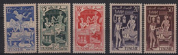 TUN 35 - TUNISIE N° 397/401 Neufs** Métiers - Unused Stamps
