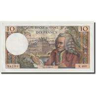 France, 10 Francs, Voltaire, 1969, 1969-01-02, SPL+, Fayette:62.36, KM:147c - 10 F 1963-1973 ''Voltaire''
