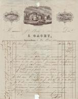 Facture Du Moulin Des Malades, Gagey, Orchamps (Jura) 1866 - 1800 – 1899