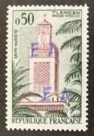 ALGERIE 1962 - YT356** -  SURCHARGE EA ORLEANSVILLE BLEUE - 10.33B (Surcharge Locale) - Algeria (1962-...)