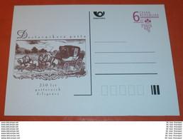 TSCHECHISCHE REPUBLIK - Post - Kutsche --- PRAGA 1998 - 6 Kc - Ganzsache Postcard ** (Foto)(60492) - Postcards