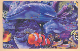 CHINA Telefonkarten Puzzle -Delphin -siehe Scan - - Dolphins