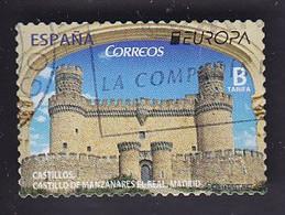 Espagne: Europa Château De Manzanares El Real  YT 4859 - 2011-... Used
