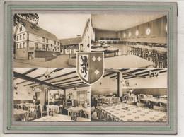 CPSM Dentelée (67) SCHALKENDORF - Carte Multivues De L'Hôtel-Restaurant Hanau - Altri Comuni