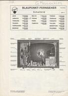 Handleiding-user Manual BLAUPUNKT Werke Gmbh Hildesheim (D) Fernseher-TV 1970 - Televisione