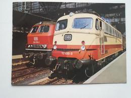 D175349  Train Railway  - Diesel Lokomotiven - Engine  DB - Trenes