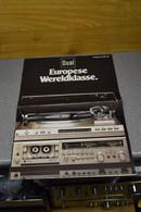 Handleiding-user Manual DUAL Gebr. Steidinger St. Georgen / Schwarzwald (D) Programma 1981-1982 - Literature & Schemes