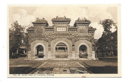 CHINE.. N 82 Arch, Hall Of Classics, PEKING - China