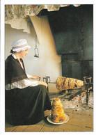 Recette De Cuisine - Le Gâteau à La Broche - Recette Au Verso - Voir Scan - Cpm - Vierge - - Recettes (cuisine)