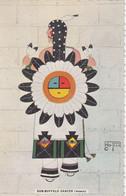 """Pueblo Indian """"Sun-Buffalo Dancer (Woman)"""", 1930-40s - Indiani Dell'America Del Nord"""