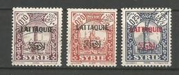 Timbre De Colonie Francaises Lattaquie Oblitere N 20/22 - Usati