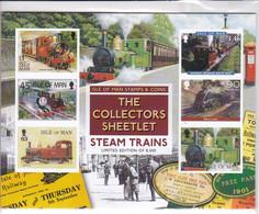Isle Of Man 2019 Steam Trains Locomotives Limited Edition  MNH ** - Treni