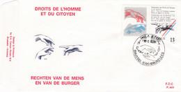 Enveloppe FDC 2327 Droit De L'homme Et Du Citoyen - 1981-90