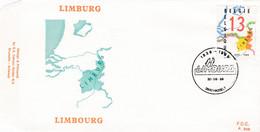 Enveloppe FDC 2338 Limburg Limbourg Hasselt - 1981-90