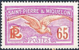 Stamp St.Pierre & Miquelon 1909-30 65c Mint Lot21 - Ungebraucht