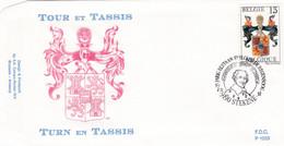 Enveloppe FDC 2483 Tour Et Tassis Stekene - 1991-00