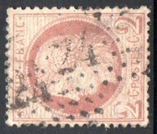 YT 51  OBLITERATION ETOILE DE PARIS 24 - AVEC UN CLAIR - 1871-1875 Ceres