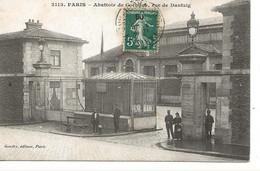 PARIS  -  Abattoir De Cochons Rue De Dantzig - Paris (15)