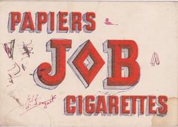 Buvard JOB Cigarettes - Tobacco