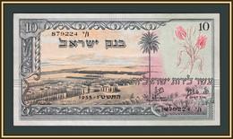 Israel 10 Lire 1955 P-27 (27b) A-UNC - Israel