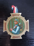 Insigne épinglette Carton Bléssés De La Tuberculose D'ille Et Vilaine - 1914-18