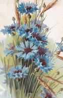 Fiori  ,  Un Mazzo Di Fiordalisi Con Le Spighe Di Grano  -  Ediz.  MAS  2244 - 5 - Flores