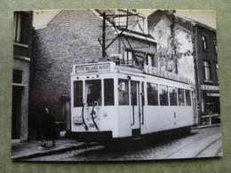 JUPILLE - PHOTO HALTE DU TRAM LIEGE-BELLAIRE-BLEGNY - Liege