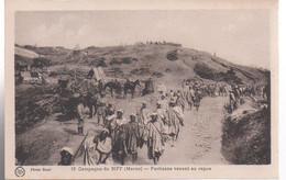 REF 526 CPA Campagne Du Riff Maroc Partisans Venant Au Repos - Autres