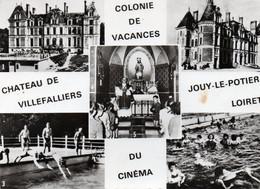 Carte Postale - 15 Cm X 10,5 Cm - Dép. 45 - JOUY LE POTIER - Multi Vues - Chateau De VILLEFALLIERS, Colonie De Vacances - Andere Gemeenten