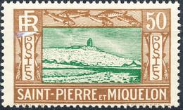 Stamp St.Pierre & Miquelon 1932-33 50c Mint Lot27 - Ungebraucht