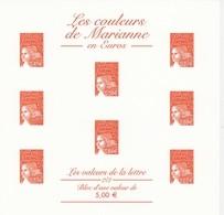 LES COULEURS DE MARIANNE De LUQUET  - GRAVURE  MONOCHROME De LA POSTE - 1997-04 Marianne (14. Juli)