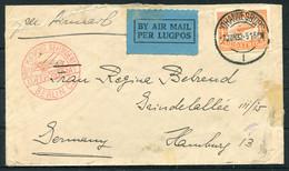 1932 South Africa Airmail Cover Johannesburg - Hamburg Germany Via Berlin. - Posta Aerea