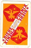 Jeu 32 Cartes à Jouer Publicitaire Bière Phenix De Luxe Offert Par Ets Camoin-Lapierre à Nice Dans étui D'origine - 32 Cards