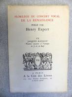 Florilège Du Concert Vocal De La Renaissance Henry Expert VII Jacques MAUDUIT Psaumes Mesurés à L'Antique - Music & Instruments