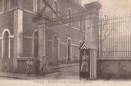 LILLE  -  Entrée De La Caserne Kléber - Lille