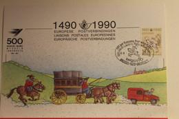 Belgien; Sonderblatt,Erinnerungsblatt,Gedenkblatt: 500 Jahre Post; SST Belgica 90, Brüssel - Zonder Classificatie
